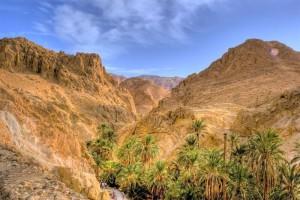 Montañas y oasis en Túnez (Foto Flickr de AndrejStojs)