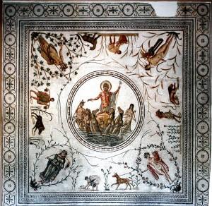 Mosaico en el Museo Bardo de Túnez (Foto flickr de Ken and Nyetta)