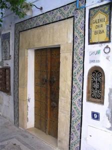 Galería en Hammamet (foto Flickr de road2006)