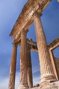 Capitolio en Dougga, patrimonio de la UNESCO (Foto Flickr de weetoon66)