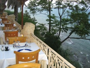 Restaurante La Falaise en Marsa, Túnez (Foto Flickr de StartAgain)