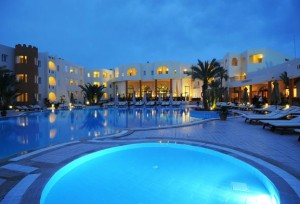 Ejemplo de los resorts de Túnez. El Caribe mediterráneo.