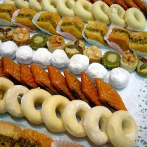 Dulces típicos de Túnez (Foto Flickr de overthemoon)