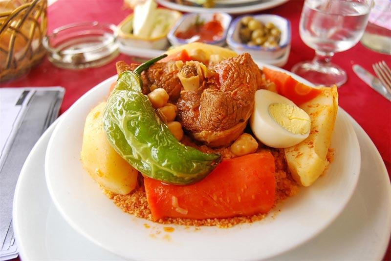 Recetas de Túnez