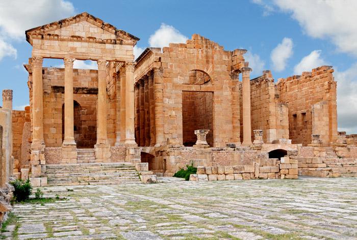 Ruinas de Sbeitla