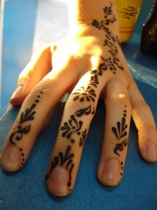 Tatuaje temporal de henna (Foto flickr de sherie_michele)