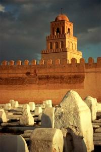 Mezquita y cementerio de Kairouan (Foto Wikimedia commons)