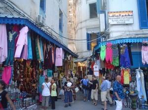 Zoco de Túnez (Foto Flickr de Subzero Blue)