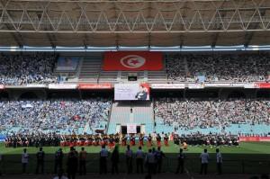 Final de la Copa de Fútbol 2009 en el estadio de Rades entre CSS y U. S. Monastir (Foto flickr de Tab59)