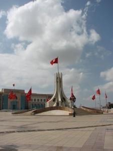 Plaza de la Kasbah, uno de los lugares favoritos para los turistas (Foto flickr de josiehen)