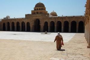 Mezquita de Kairouan (Foto flickr de Simon Blackley)