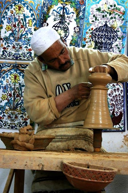 Artesanía de Túnez