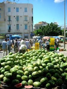 Mercado de Bizerte en Túnez (Foto Flickr de d.mavro)