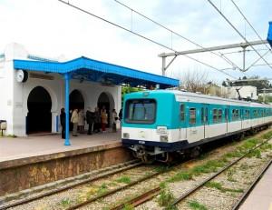 Tren de Sidi Bou Said (Foto Flickr de Todor Kamenov)