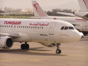 Avión de la aerolínea Tunisair (Foto Flickr de snappy2006)