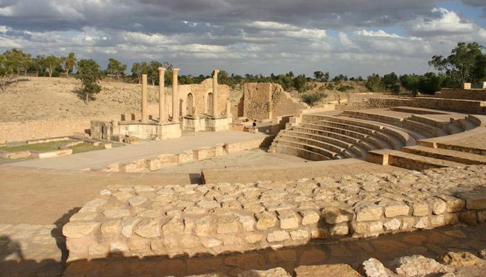 Teatro romano de Sbeitla