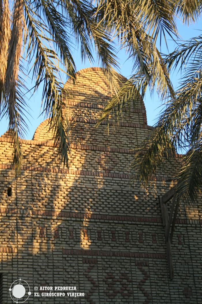 Típica arquitectura de Tozeur