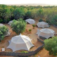 Dormir en una jaima en el desierto del Sáhara de Túnez