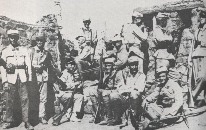 'Bat' F - Batallones de Infantería Ligera de África